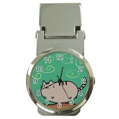Fat Cat Money Clip Watches by Onesevenart