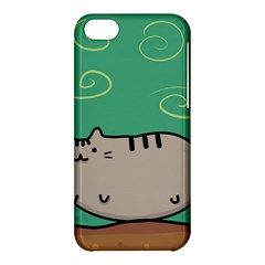 Fat Cat Apple Iphone 5c Hardshell Case by Onesevenart