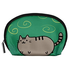 Fat Cat Accessory Pouches (large)  by Onesevenart