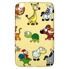 Group Of Animals Graphic Samsung Galaxy Tab 3 (8 ) T3100 Hardshell Case  by Onesevenart