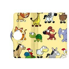 Group Of Animals Graphic Kindle Fire Hdx 8 9  Flip 360 Case by Onesevenart