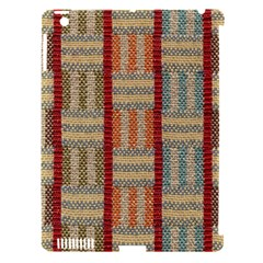 Fabric Pattern Apple Ipad 3/4 Hardshell Case (compatible With Smart Cover)