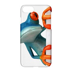 Tree Frog Illustration Apple Iphone 7 Hardshell Case by Onesevenart