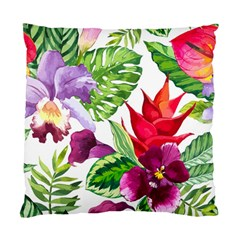 Vector Pattern Tropical Standard Cushion Case (one Side) by Onesevenart