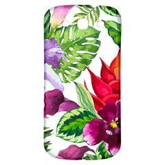 Vector Pattern Tropical Samsung Galaxy S3 S Iii Classic Hardshell Back Case by Onesevenart