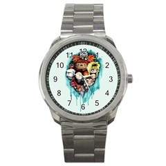 Should You Need Us 2 0 Sport Metal Watch by lvbart