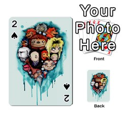 Should You Need Us 2 0 Playing Cards 54 Designs  by lvbart
