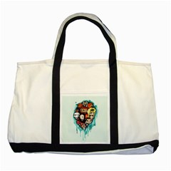 Should You Need Us 2 0 Two Tone Tote Bag by lvbart