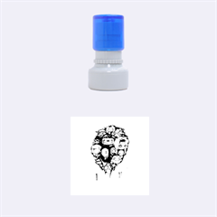 Should You Need Us 2 0 Rubber Round Stamps (small) by lvbart