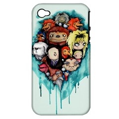 Should You Need Us 2 0 Apple Iphone 4/4s Hardshell Case (pc+silicone) by lvbart