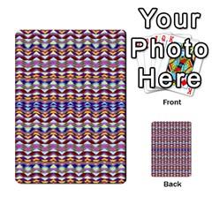 Ethnic Colorful Pattern Multi Purpose Cards (rectangle)  by dflcprints