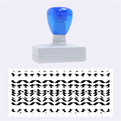 Ethnic Colorful Pattern Rubber Stamps (large) by dflcprints