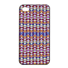 Ethnic Colorful Pattern Apple Iphone 4/4s Seamless Case (black) by dflcprints