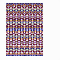 Ethnic Colorful Pattern Large Garden Flag (two Sides) by dflcprints