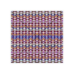 Ethnic Colorful Pattern Acrylic Tangram Puzzle (4  X 4 ) by dflcprints
