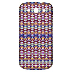 Ethnic Colorful Pattern Samsung Galaxy S3 S Iii Classic Hardshell Back Case by dflcprints