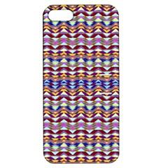 Ethnic Colorful Pattern Apple Iphone 5 Hardshell Case With Stand by dflcprints