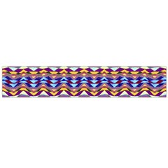 Ethnic Colorful Pattern Flano Scarf (large)  by dflcprints