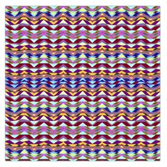Ethnic Colorful Pattern Large Satin Scarf (square) by dflcprints