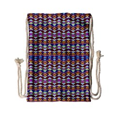 Ethnic Colorful Pattern Drawstring Bag (small) by dflcprints