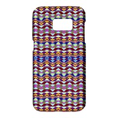 Ethnic Colorful Pattern Samsung Galaxy S7 Hardshell Case  by dflcprints