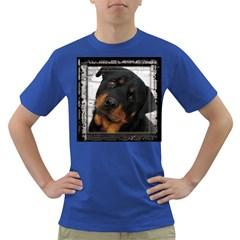 Rottweiler Framed Dark T-Shirt by TailWags