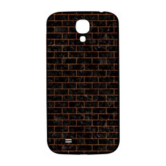 Brick1 Black Marble & Brown Marble (r) Samsung Galaxy S4 I9500/i9505  Hardshell Back Case by trendistuff