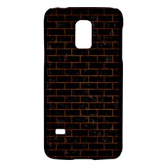 Brick1 Black Marble & Brown Marble (r) Samsung Galaxy S5 Mini Hardshell Case  by trendistuff