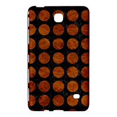 Circles1 Black Marble & Brown Marble Samsung Galaxy Tab 4 (7 ) Hardshell Case  by trendistuff