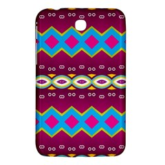 Rhombus And Ovals Chains                                                                                                              samsung Galaxy Tab 3 (7 ) P3200 Hardshell Case by LalyLauraFLM