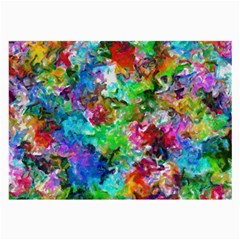 Colorful Strokes                                                                                                                			large Glasses Cloth by LalyLauraFLM