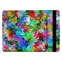 Colorful Strokes                                                                                                               samsung Galaxy Tab Pro 12 2  Flip Case by LalyLauraFLM