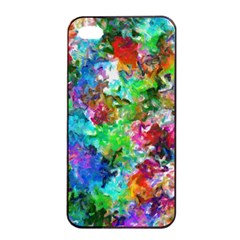 Colorful Strokes                                                                                                               			apple Iphone 4/4s Seamless Case (black) by LalyLauraFLM
