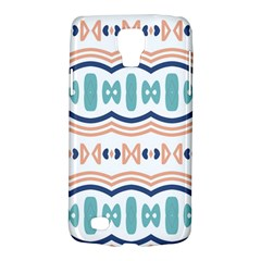 Shapes And Waves                                                                                                                 samsung Galaxy S4 Active (i9295) Hardshell Case by LalyLauraFLM