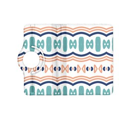 Shapes And Waves                                                                                                                 kindle Fire Hd (2013) Flip 360 Case by LalyLauraFLM