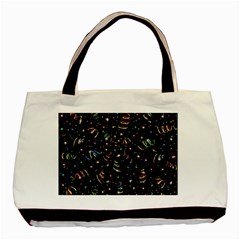 Christmas Decorative Pattern Vector Basic Tote Bag by Onesevenart