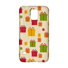 Christmas Gift Box Vector Seamless Pattern Vector Samsung Galaxy S5 Hardshell Case  by Onesevenart