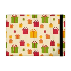 Christmas Gift Box Vector Seamless Pattern Vector Ipad Mini 2 Flip Cases by Onesevenart