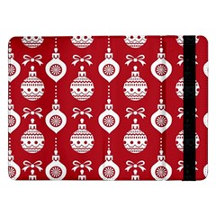 Abstract Christmas Seamless Background Vector Graphic Samsung Galaxy Tab Pro 12 2  Flip Case by Onesevenart