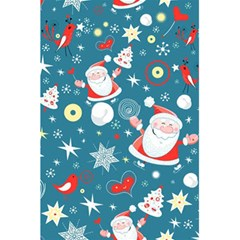 Christmas Stockings Vector Pattern 5 5  X 8 5  Notebooks by Onesevenart