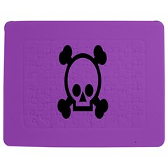 Cartoonskull Danger Jigsaw Puzzle Photo Stand (Rectangular) by AnjaniArt
