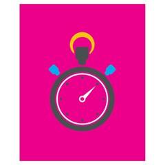 Alarm Clock Houre Drawstring Bag (small) by AnjaniArt