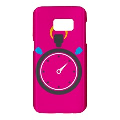 Alarm Clock Houre Samsung Galaxy S7 Hardshell Case  by AnjaniArt