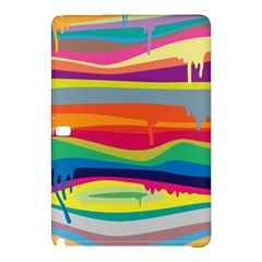 Colorfull Rainbow Samsung Galaxy Tab Pro 10 1 Hardshell Case by AnjaniArt
