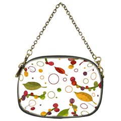 Adorable Floral Design Chain Purses (one Side)  by Valentinaart