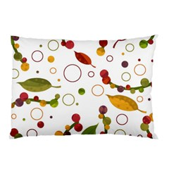 Adorable Floral Design Pillow Case (two Sides) by Valentinaart