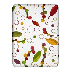 Adorable Floral Design Samsung Galaxy Tab 4 (10 1 ) Hardshell Case  by Valentinaart