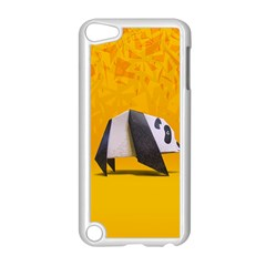 Cute Panda Apple iPod Touch 5 Case (White) by AnjaniArt