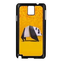Cute Panda Samsung Galaxy Note 3 N9005 Case (Black) by AnjaniArt