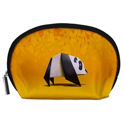Cute Panda Accessory Pouches (large)  by AnjaniArt